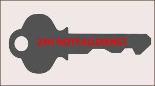 24h Schlüsselnotfalldienst